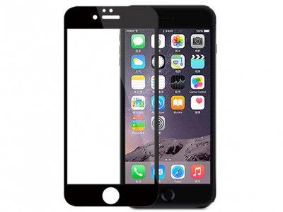 محافظ صفحه نمایش شیشه ای مشکی Apple iphone 6 Plus مارک Nillkin