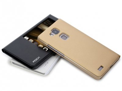 کیف چرمی Huawei Ascend Mate 7 مارک Rock