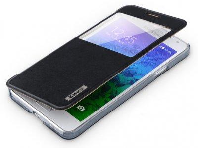 کیف چرمی Samsung Galaxy Alpha مارک Baseus