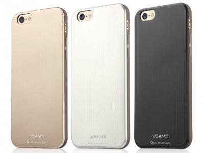 گارد ژله ای طرح فلز یوسامز آیفون Usams Case Apple iPhone 6/6S