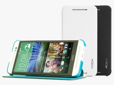 کیف چرمی HTC One E8 مارک Rock