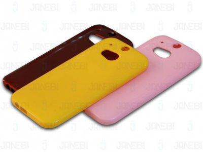 محافظ ژله ای رنگی HTC One M8