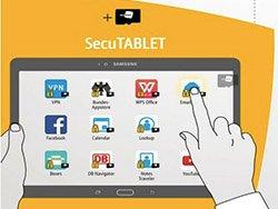 SecuTABLET پروژه مشترک بلکبری، سامسونگ و IBM