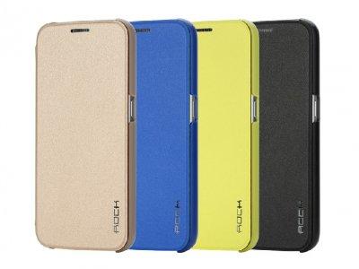 کیف چرمی Samsung Galaxy S6 مارک Rock