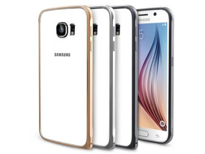 بامپر آلومینیومی بیسوس سامسونگ Baseus Beauty Arc Series Samsung Galaxy S6