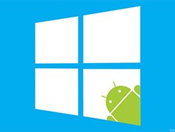 ویندوز 10 قابلیت اجرای برنامه های اندرویدی را خواهد داشت