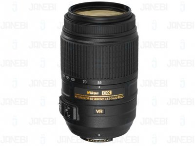 لنز دوربین نیکون Nikon Nikkor  AF-S  Telephoto zoom lens 55-300mm