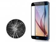 محافظ صفحه نمایش شیشه ای مشکی Samsung Galaxy S6 مارک Nillkin
