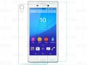 محافظ صفحه نمایش شیشه ای پشت و رو Sony Xperia M4 Aqua مارک Nillkin