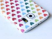 خرید قاب محافظ Samsung Galaxy S6 Hearts 1