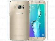 محافظ صفحه نمایش شیشه ای پشت رو Samsung Galaxy S6 edge Plus H مارک Nillkin