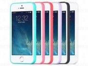 قاب ژله ای رنگی Apple iphone 5