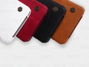 قیمت کیف چرمی Samsung Galaxy Note 5 N920 مارک Nillkin-Qin