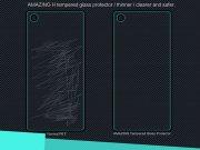 محافظ صفحه نمایش شیشه ای پشت  Sony Xperia Z5 Premium H مارک Nillkin