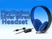 جانبی هدفون سونی PlayStation Silver Wired Stereo Headset