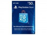 خرید کارت و اکانت هدیه 50 دلاری سونی PlayStation Store Gift Card 50$
