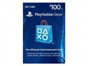 خرید کارت و اکانت هدیه 100 دلاری سونی PlayStation Store Gift Card 100$
