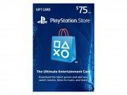 خرید کارت و اکانت هدیه 75 دلاری سونی PlayStation Store Gift Card 75$