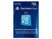 خرید کارت و اکانت هدیه 10 دلاری سونی PlayStation Store Gift Card 10$