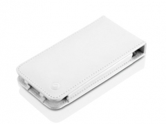 کیف محافظ آیفون 5 LeatherFlip White