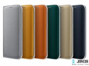 خرید کیف اصلی Fabric Flip Wallet Cover Samsung Galaxy S6 edge