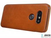 خرید کیف چرمی LG G5 مارک Nillkin Qin leather case