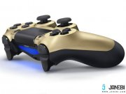 جانبی دسته بازی Sony DUALSHOCK 4 Wireless Gold Controller PS4