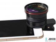 جانبی لنز گوشی موبایل LIEQI LQ-026 Fish Eye Lens With Macro