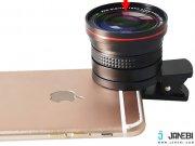 نمونه لنز گوشی موبایل LIEQI LQ-026 Fish Eye Lens With Macro