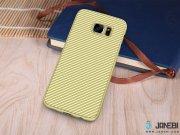 طلایی قاب محافظ Samsung Galaxy S7 Edge مارک Nillkin Synthetic Fiber