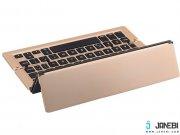 آنلاین کیبورد تاشوی بی سیم F18 Foldable Bluetooth Keyboard