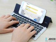 جانبی کیبورد تاشوی بی سیم F18 Foldable Bluetooth Keyboard