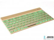 فروش کیبورد بی سیم F3S Bluetooth LED Backlight Keyboard