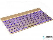 قیمت کیبورد بی سیم F3S Bluetooth LED Backlight Keyboard
