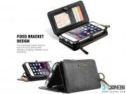 جانبی کیف پول و گوشی Wallet Case For iPhone 6 / 6S مارک FLOVEME
