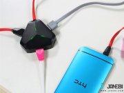 قیمت هاب و تبدیل Remax RU U3 Aliens 3 USB HUb   OTG