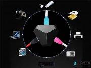 خرید هاب و تبدیل Remax RU U3 Aliens 3 USB HUb   OTG