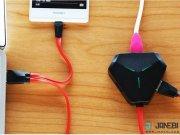 هاب و تبدیل Remax RU U3 Aliens 3 USB HUb   OTG