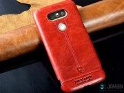 جانبی قاب چرمی LG G5 مارک Pierre Cardin