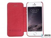 کیف چرمی Apple iphone 5/5C/5S/SE مارک Nillkin