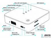 Naztech NZT-9930 4G Router Wi-Fi Hotspot and Powerbank