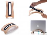 جانبی استند چوبی Vertical Stand For Macbook Pro مارک SAMDI