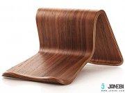 خرید استند چوبی تبلت Wooden Tablet Stand مارک SAMDI