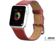 فروش بند چرمی Apple Watch ART SERIES PLATINUM LEATHER WATCHBAND STRAP مارک Hoco