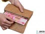 جانبی کیف پول و پاور بانک P4 Wallet Type Portable Power Bank 4800 mAH مارک Hoco