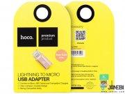 جانبی تبدیل هوکو Hoco Micro USB To Lightning
