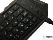 مشکی کیبورد تاشوی بی سیم بیسوس Baseus Tron Pro Series Bluetooth Folding Keyboard