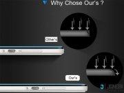 خرید محافظ صفحه نمایش فول شیشه ای Hoco 3D Full Screen Tempered Glass For iphone 6 / 6s