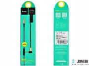 کابل یک متری میکروفون دار Hoco UPA02 Spring 3.5 mm Stereo With Controls Aux