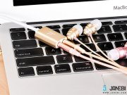جانبی تبدیل یک به دو Hoco UA1 Audio Cable AUX